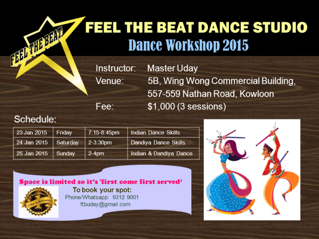 indian dance workshop 2015